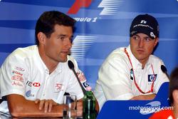 Conferencia de prensa FIA jueves: Mark Webber y Ralf Schumacher