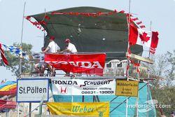 Honda ve Canadian GP supporters