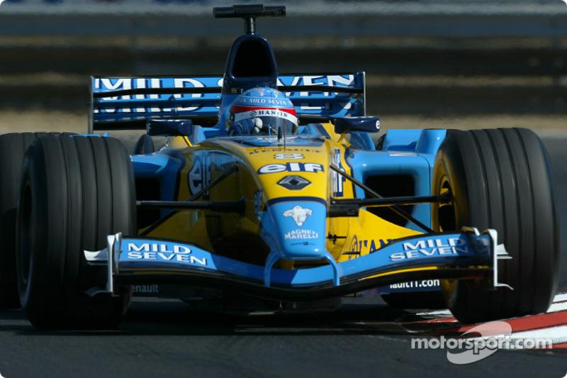 2003: Фернандо Алонсо, Renault R23