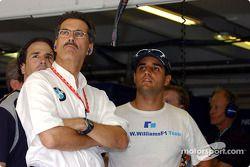 Dr Mario Theissen ve Juan Pablo Montoya