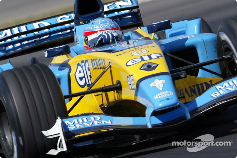 Alonso és az első győzelmi hétvége a Forma-1-ben - 2003 - Magyar Nagydíj
