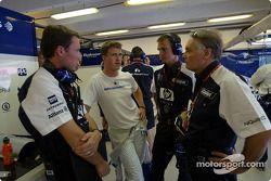 Ralf Schumacher ve Patrick Head