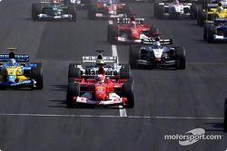Start: Rubens Barrichello