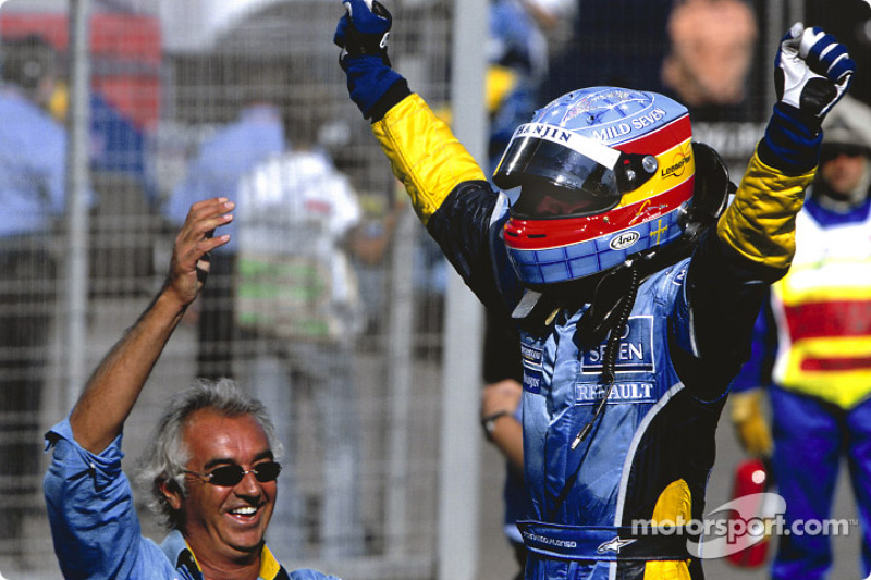 2003 Fernando Alonso, Renault