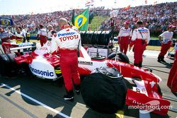 Toyota takım elemanları, starting grid