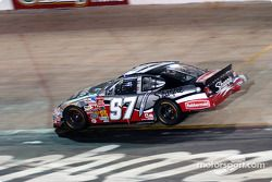 Kurt Busch on his way to victory lane