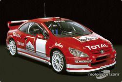 La nouvelle Peugeot 307 WRC