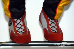The pedal dancing shoes of Ron Fellows