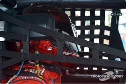 Dale Earnhardt Jr in the car