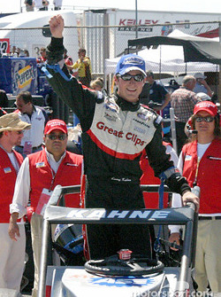 Kasey Kahne heads into victory lane