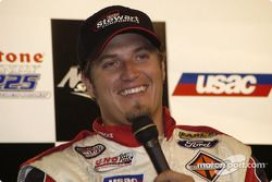 J.J. Yeley, front row press conference