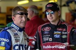Jeff Burton y Kurt Busch