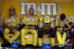M&M team takes a break