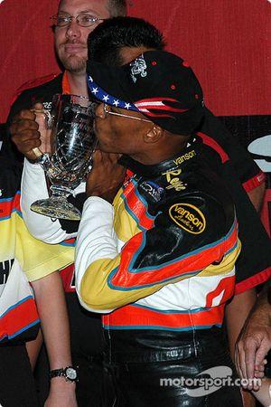 Le vainqueur du K&N Pro Bike Clash, Reggie Showers