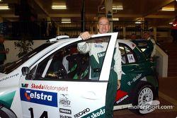 Didier Auriol au show rallye