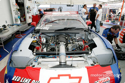 Phil McClure's Corvette was rebuilt in 21 days after a major incident at Road American on Aug 3