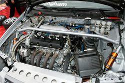 Le compartiment moteur de la Nissan Sentra SE-R de Peter Cunningham
