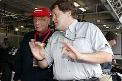 Niki Lauda et Norbert Haug