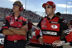 Greg Biffle and crew chief Doug Richert