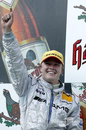 Podium: 1. Marcel Fässler, Team HWA, AMG-Mercedes CLK-DTM 2003