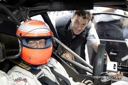 Niki Lauda und Jean Alesi, Team HWA, AMG-Mercedes CLK-DTM 2003