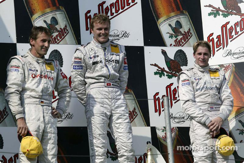 Podium: 1. Marcel Fässler, Team HWA, AMG-Mercedes CLK-DTM 2003; 2. Bernd Schneider, Team HWA, AMG-Me