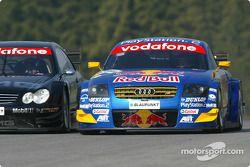 Jean Alesi, Team HWA, AMG-Mercedes CLK-DTM 2003 und Mattias Ekström, Abt Sportsline, Abt-Audi TT-R 2