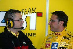 Christian Abt, Abt Sportsline, Abt-Audi TT-R 2003 im Gespräch mit Albert Deuring, Abt
