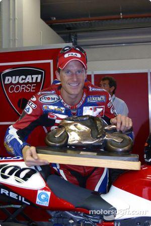 Neil Hodgson, champion du monde de SBK 2003