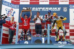 Race 1 podium