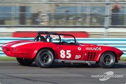La #85 Chevrolet Corvette Roadster, détenue par Keith Watts