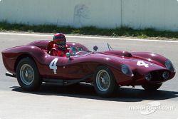 La #4 Ferrari 250TR de 1957, détenue par Jon Shirley