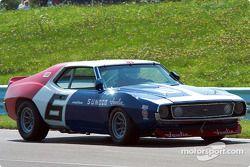 La #6 AMC Javelin de 1971, pilotée par Mark Donohue à l'origine, détenue par Scott Gregory