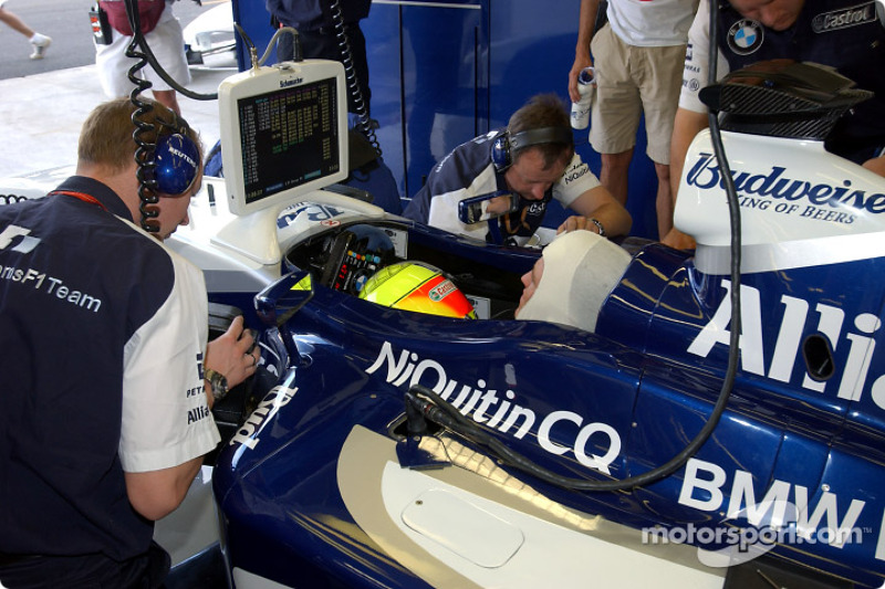 2003: Марк Жене вместо Ральфа Шумахера (Williams-BMW, Гран При Италии)