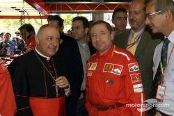 Jean Todt ve Cardinale Tettamanzi