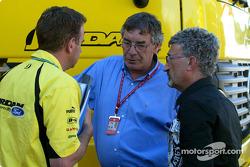 Tim Edwards, Gary Anderson and Eddie Jordan