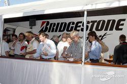 Bridgestone konuk alanı