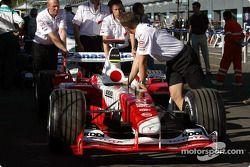Toyota takım elemanları technical inspection line
