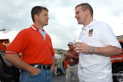 Ward Burton and Jerry Nadeau