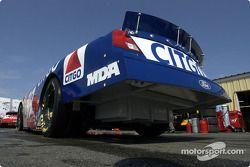 Jeff Burton waits to go on track