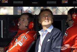 Jean Todt ve Luca di Montezemolo, Ferrari pitwall