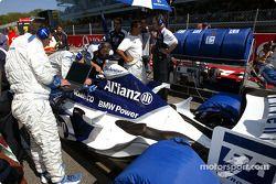 Team Williams-BMW gridde