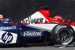 Batallas de Michael Schumacher con Juan Pablo Montoya