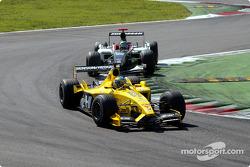 Zsolt Baumgartner por delante de Nicolas Kiesa