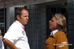 Gerhard Berger et Keke Rosberg