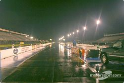 With the last downpour on Saturday night, NHRA canceled the race for this weekend and re-scheduled for October 5
