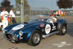 Cobra pace car