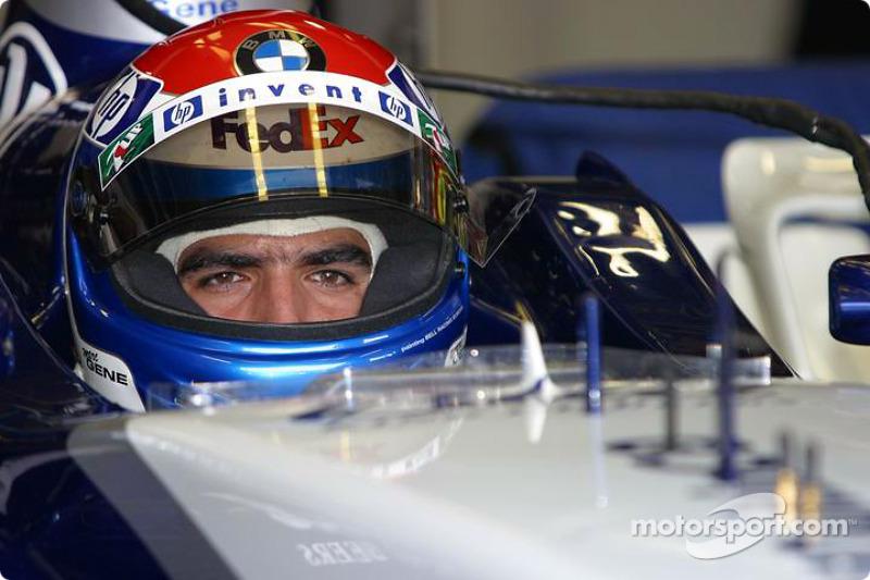 2003 год. Марк Жене. 1 гонка за Williams