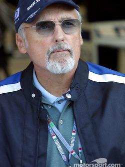 Dennis Hopper, invité par Williams-BMW