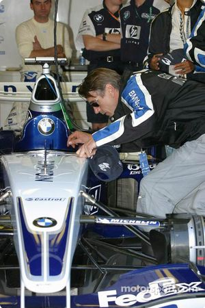 Williams-BMW guest Jeremy Irons
